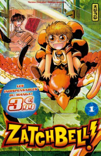 Zatchbell !, Tome 1 :