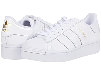 adidas Originals Superstar Bold Platform (Footwear White/Footwear White/Gold Metallic) Women