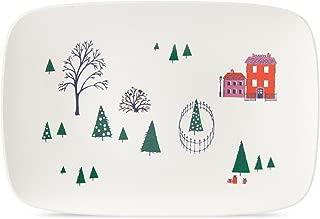 kate spade new york Arbor Village Oblong Platter,15.75