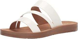 Madden Girl Women's Press Flat Sandal