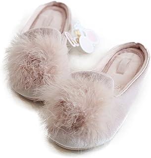 Women's Cozy Velvet Memory Foam House Slippers Non Slip Soles