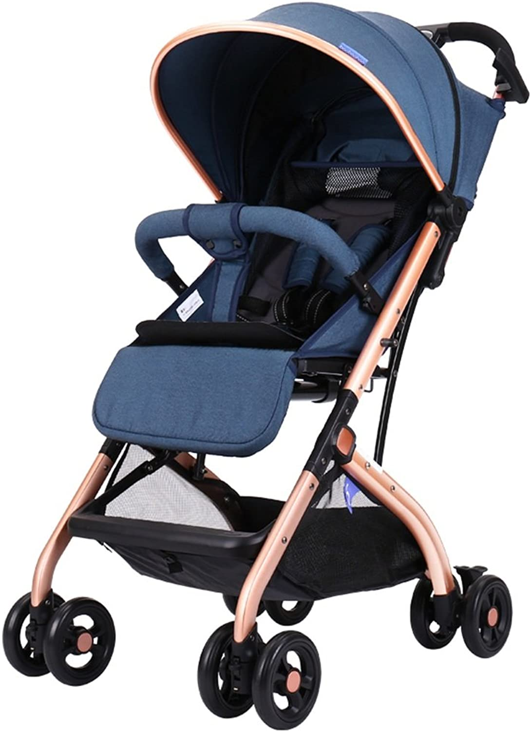 MEIDUO Kids' Bikes Baby Stroller can sit Reclining Lightweight Folding Variable Trolley case Free Inssizetion