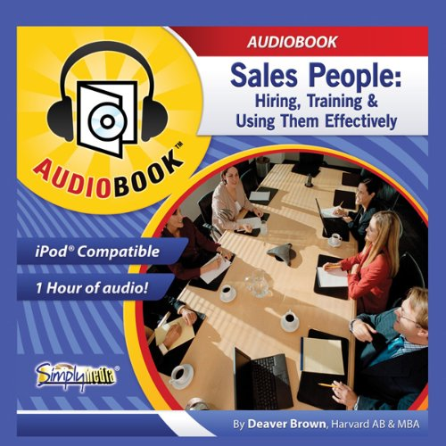 Sales People audiobook cover art