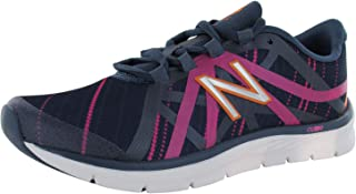 New Balance Women's WX811GG2, Navy/Pink, 11 B US