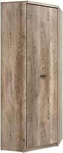 SMARTBett Malkolm Armoire d'angle en chêne avec 1 Porte et 1 Armoire d'angle 74,5 cm