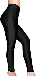 Women's Stretched Shiny Sports Leggings Elastic Pants Leggings Tights