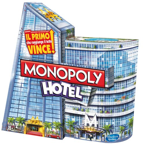 Hasbro A2142103 - Monopoly Hotels [Parent]