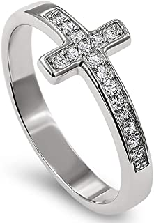 925 Lost Cross Silver Ring,
