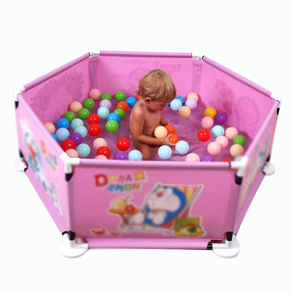 LHR888 Valla de Juegos Valla de Seguridad para niños Zona de Juegos Interior Piscina para niños en Interiores Valla para niños pequeños, Adecuado para niños de 0 a 6 años: Amazon.es: Juguetes