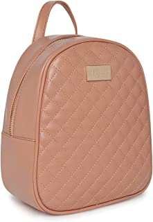 KLEIO Quilted Multifunctional Backpack And Sling Bag For Women/Girls