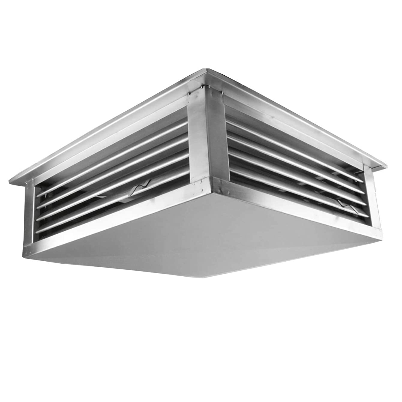 GSW DF-18S 18-Inch Stainless Steel 4-Way Adjustable Metal Diffuser for Evaporative/Swamp Cooler