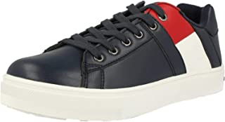 Scarpe Bambino Tommy Hilfiger Sneaker Bianco in Pelle Zip Laterale con iniziali | eBay
