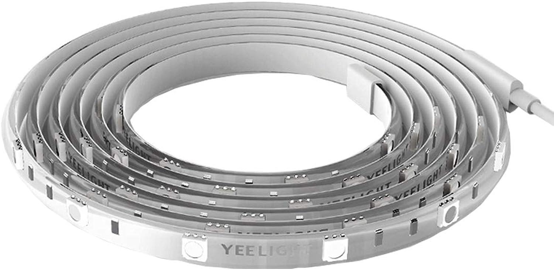 KHXYP LED Strip LED Streifen Yeelight 12W 60 LEDs Telefon WiFi Control RGB Smart Lichtschlauch, Lnge  2m LED-Lampe
