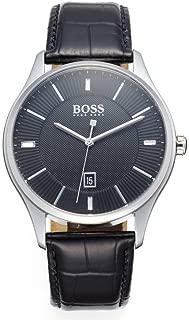 Hugo Boss 1513520 Governor Men's Watch Black 44Mm Stainless Steel, Analog Display