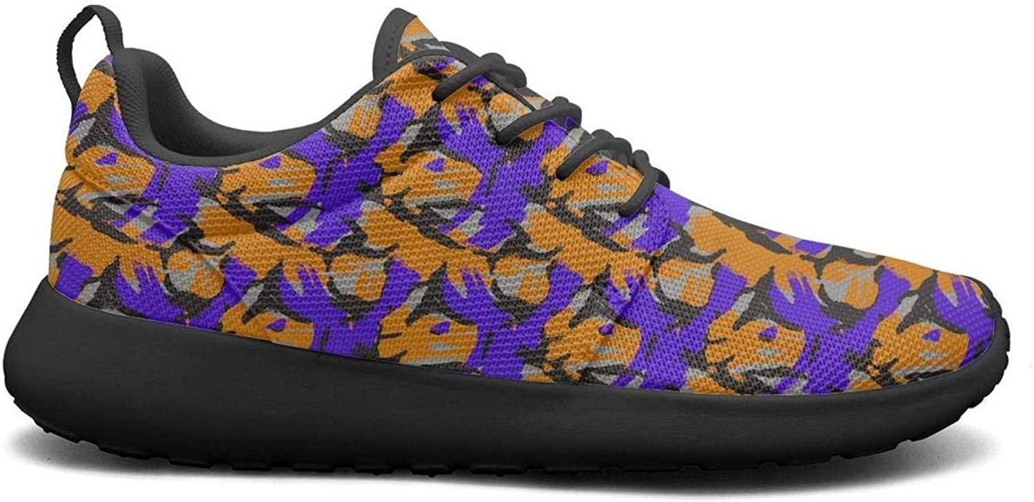 Wuixkas Camouflage Collage Art Army Womens Lightweight Mesh Sneakers Casual Walking shoes
