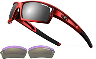 Golf Camrock Wrap Sunglasses, Metallic Red, 143 mm