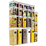 Wildone Airtight Food Storage Containers - BPA Free Cereal & Dry Food Storage Containers...