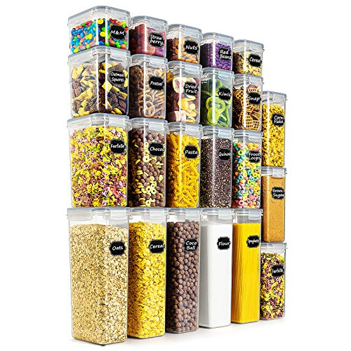 Wildone Airtight Food Storage Containers - BPA Free Cereal &...