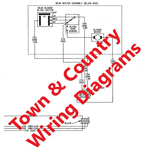 CHRYSLER Town & Country Wiring Diagrams