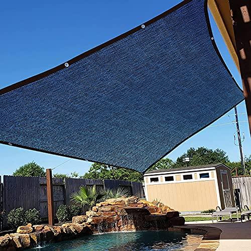MIAOSHA Schattiernetz mit ösen Nach Maß 2x4m Schattennetz mit ösen Camping Beschattungsnetz Camping Schutz vor neugierigen Blicken Zur Beschattung von Wintergärten und Pergolen Schwarz