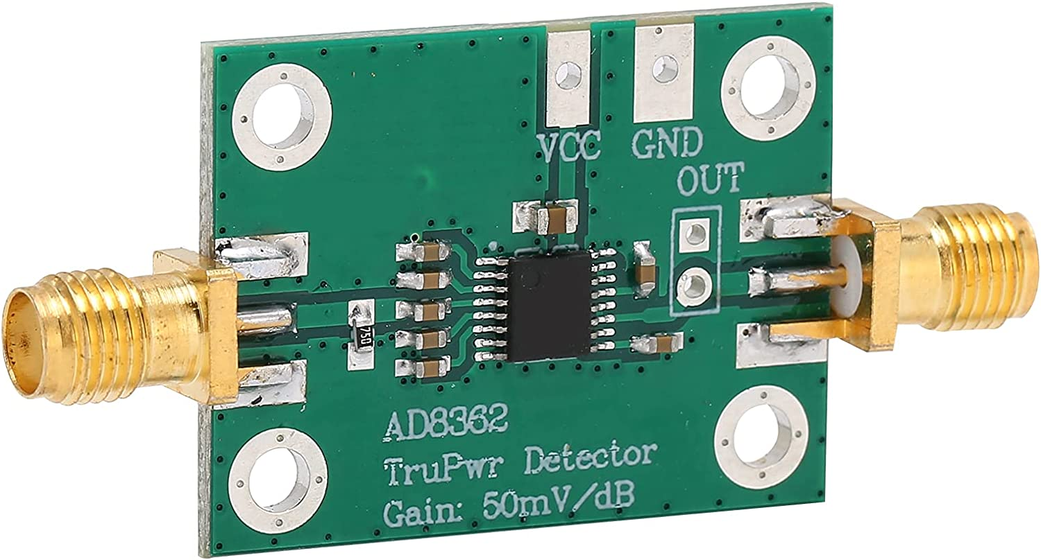 SALUTUY Regular store Logarithmic OFFicial mail order Detector Module Excellent Accuracy to Easy