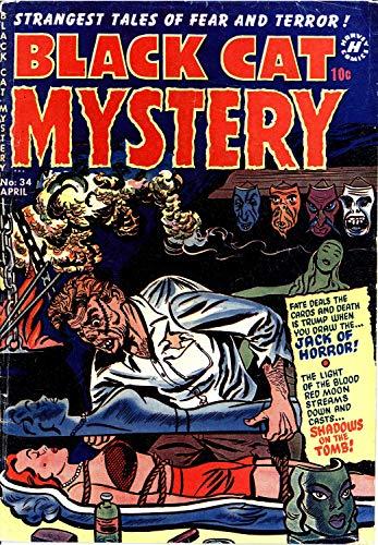 Black Cat Mystery 034 (diff ver-c2c) -JVJ (English Edition)