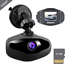 Dash Cam GOODTS Full HD 1080P Mini Car Camera Driving...