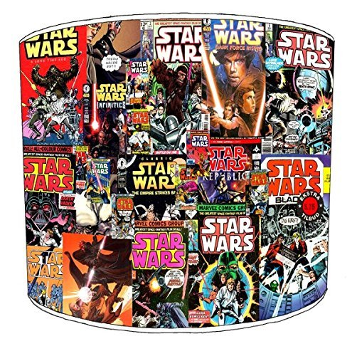 12 Inch Ceiling Star Wars Comic Book Lamp Shades