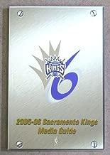 SACRAMENTO KINGS NBA BASKETBALL MEDIA GUIDE - 2005 2006 - NEAR MINT