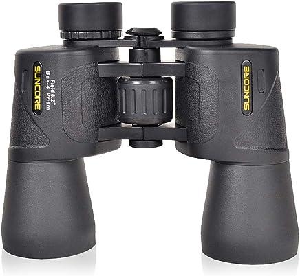 la observación de vida silvestre o juegos deportivos el senderismo más claros y nítidos para la caza Color : Green10X42 Binoculares para adultos con prismas seleccionados a mano y vidrio HD más claros y nítidos para la caza