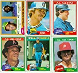 1981 Topps Baseball Complete Near Mint 726 Card Set. Features Rookie Cards of Tim Raines, Fernando Valenzuela, Kirk Gibson and Others Plus Rickey Henderson's... rookie card picture