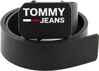 حزام جلدي بلاك 4.0 ضمن تشكيلة تومي جينز للرجال من تومي هيلفجر، 90 سم، لون اسود