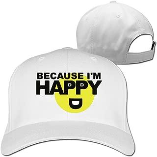 Because I'm Happy Emoji Symbol Emoticon Emoji Meme Snapback Cap Hat