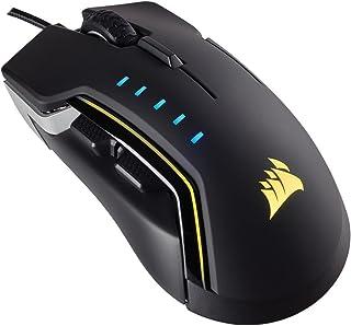 Corsair Glaive RGB Multi-Colour RGB Backlit Performance 16000 DPI Optical Gaming Mouse, Aluminium