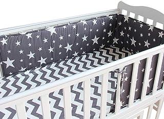 Yuena Care ベッドガード ベビー ベッドフェンス ベッドバンパー ベビーベッドガード 赤ちゃん ベッド ガード コットン クッション 出産お祝い かわいい