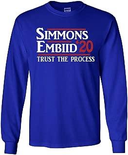 PROSPECT SHIRTS Long Sleeve Blue Philadelphia Simmons 2020