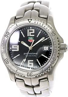 タグホイヤー TAG HEUER リンク プロフェッショナル WT1110 メンズ 腕時計 デイト ブラック 文字盤 ウォッチ 【中古】 90080722 [並行輸入品]