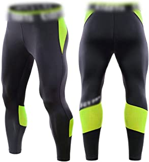 LUKEEXIN Mens Compression Dry Cool Sports Tights Pants Baselayer Running Leggings