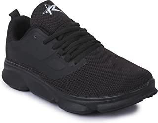 REFOAM Men's L11 Black Running Shoes