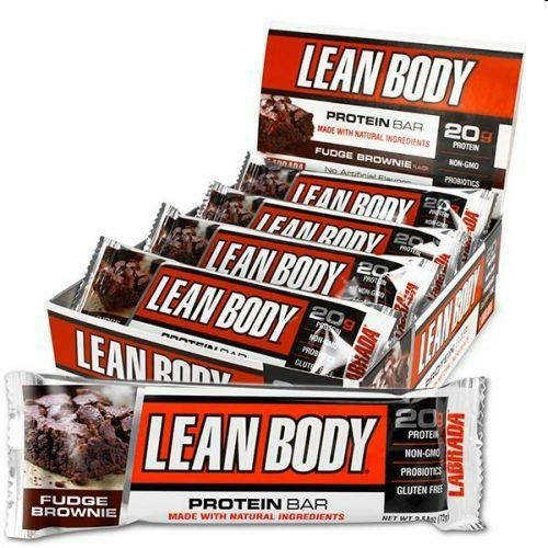Labrada Nutrition Barrette Lean Body Protein Bar F/Brownie - 1 kg