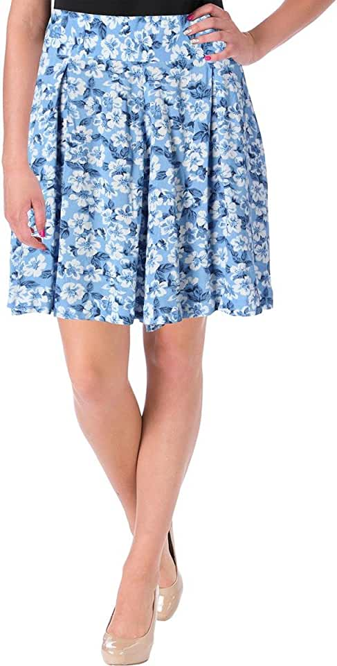 Denim & Supply Womens Pleated Floral Print Casual Shorts