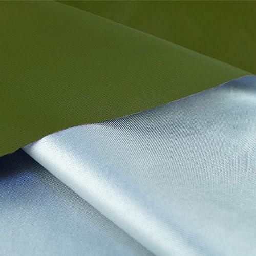 Tarpaulin NAN Tissu imperméable à l'eau de Oxford Tissu de Tente Tissu de Portage Abat-Jour de Voiture Tissu de Couverture de Voiture 180g   m2 (Vert, gris foncé) (Couleur   A, Taille   8  10m)