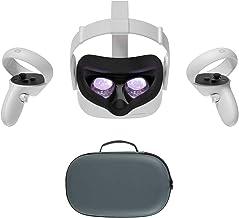 2020 Oculus Quest 2 All-In-One VR Headset, Controladores de toque, 256GB SSD, 1832x1920 até 90 Hz Taxa de Actualização LC...