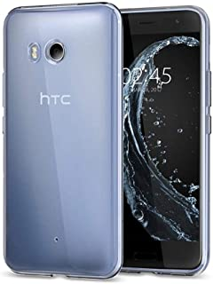 Silicone Back Case Cover By Ineix For HTC U11 - Clear