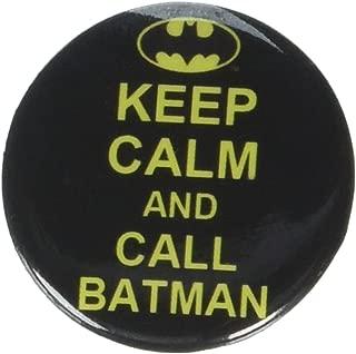 Button set DC Comics Batman Keep Calm and Call Batman Button 1.25