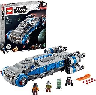 LEGO 75293 Star Wars Resistance I-TS Transport Shuttle Toy with Rebels Figures, Disney World Building Set