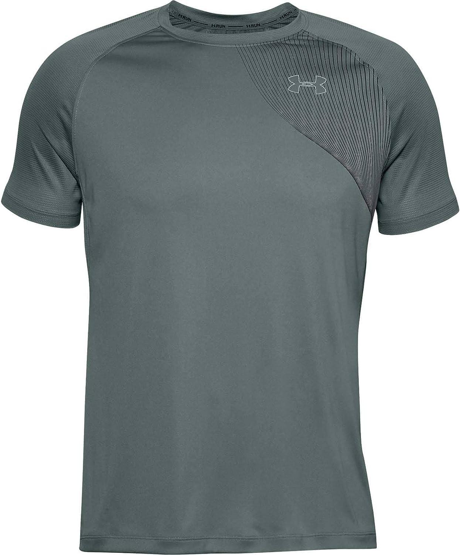Under Armour Mens Qualifier Iso-chill Short Sleeve Running T-Shirt
