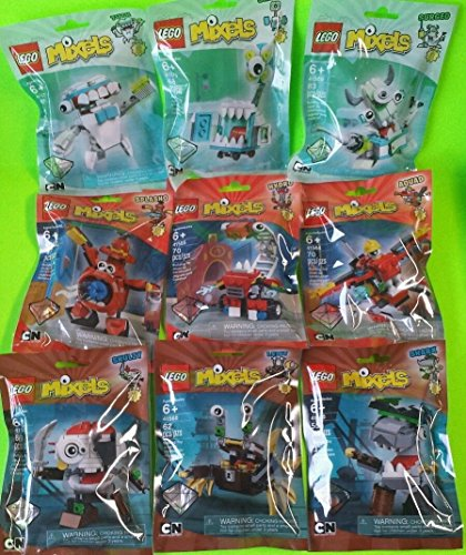 Complete Set of 9 LEGO Mixels Series 8 (C) by LEGO