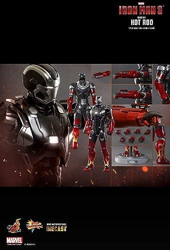 Hot Toys MMS272D08 - Marvel Comics - Iron Man 3 - Iron Man Hotrod Mark XXII 1 6 - Officiel