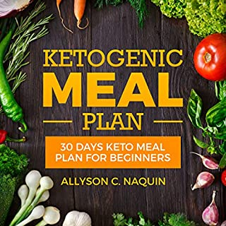 Keto Meal Plan for Beginners: 30 Days Keto Meal Plan 2018 for Rapid and Permanent Weight Loss     105 Keto Recipes to Lose up to 20 Pounds in 4 Weeks              By:                                                                                                                                 Allyson C. Naquin                               Narrated by:                                                                                                                                 Joana Garcia                      Length: 4 hrs and 3 mins     Not rated yet     Overall 0.0